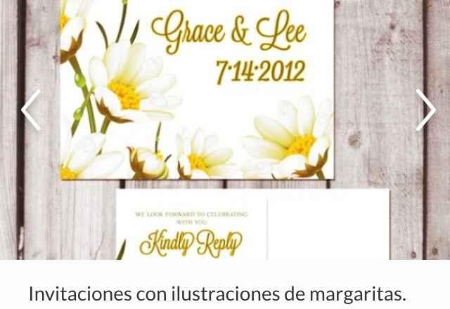 Margaritas: las flores perfectas para decorar tu boda - 4
