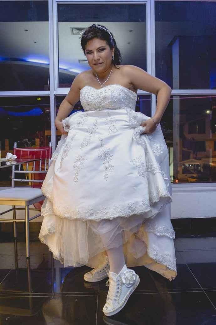 Zapatilla para novia