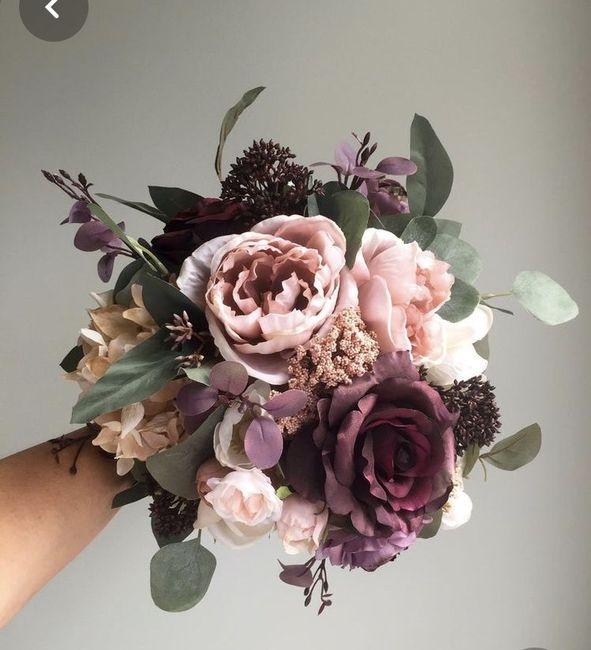 ¿Quién me muestra una foto de inspiración de su bouquet? 7