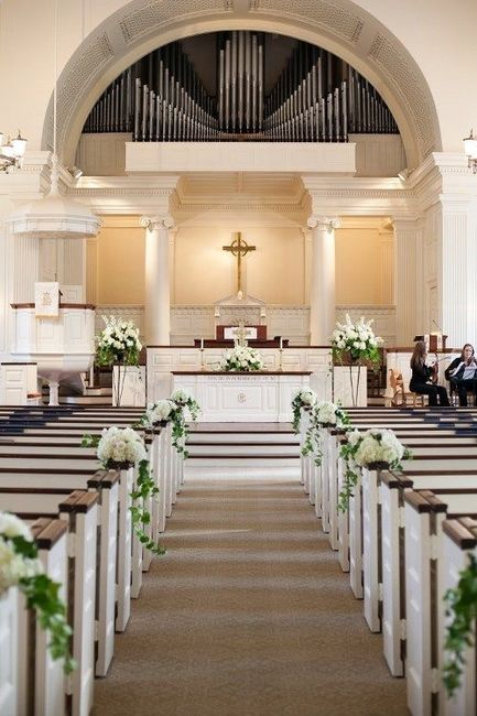 Decoración para la iglesia ⛪️ 👰🏻 ❤️🤵🏻 - 1