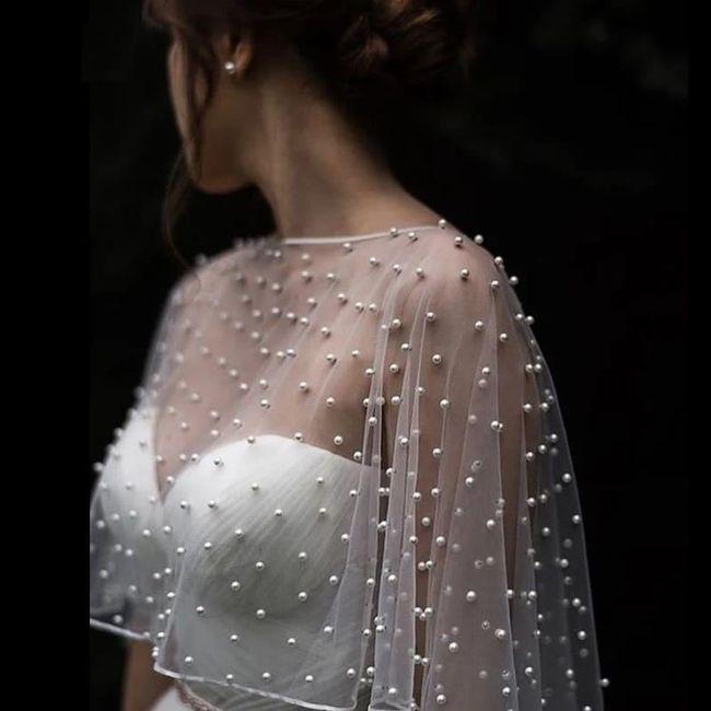Bridal capelet 👰🏻 - 5