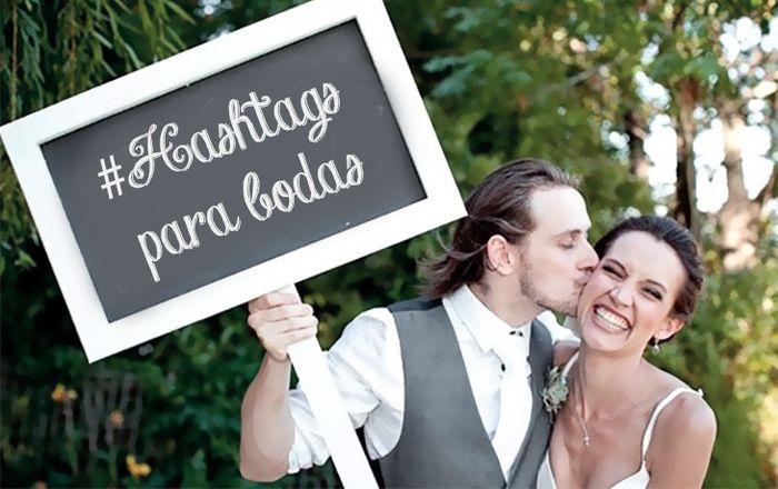 #Mibodaesgenial Hashtag de bodas 1