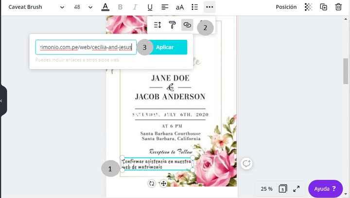 Invitaciones de boda virtuales - 2