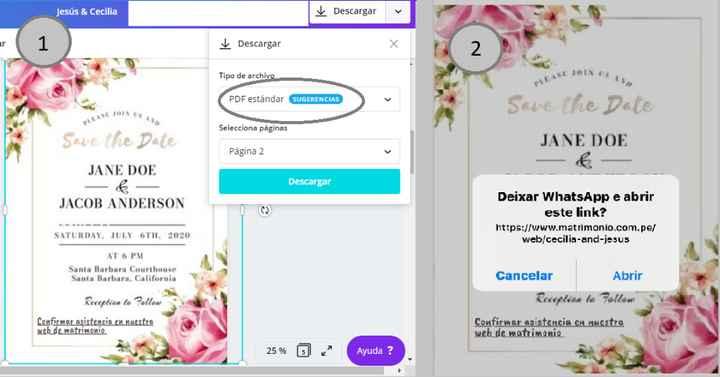 Invitaciones de boda virtuales - 4