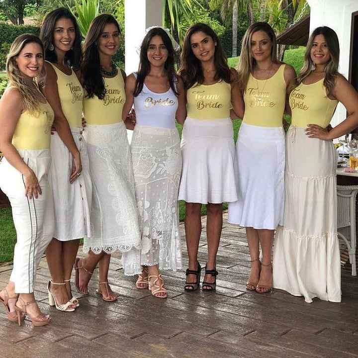 Team de la novia - 1