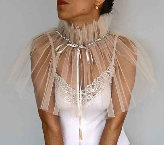 Bridal capelet 👰🏻 - 3