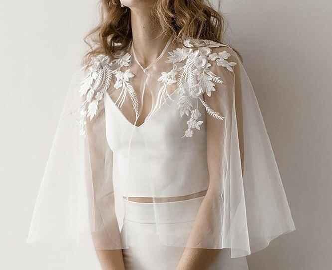Bridal capelet 👰🏻 - 4