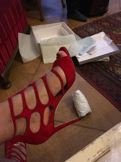 Mis zapatitos rojos.