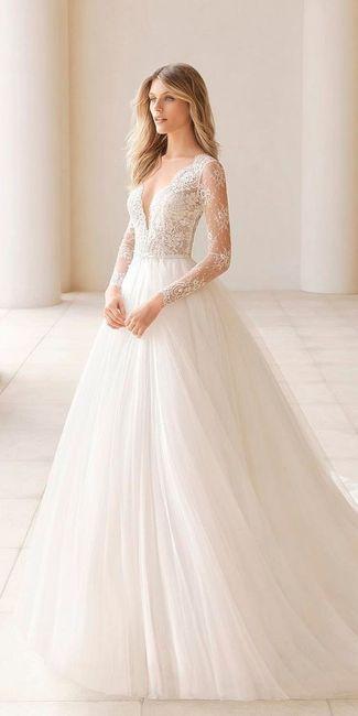 Vestido de novia....sencillo y economico 1