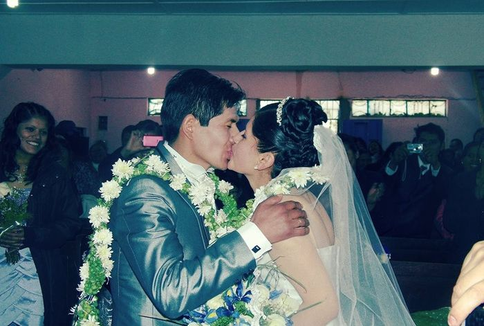 Tocado de la novia 1