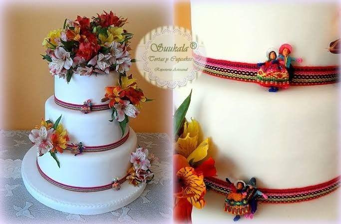 ¿Cuántos pisos tiene su torta de matrimonio? - 1