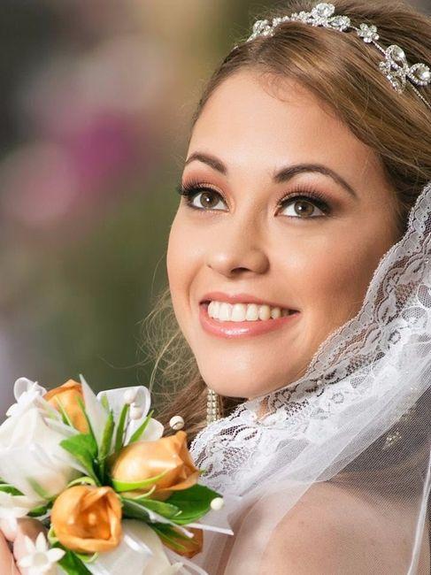 ¿Look de novia 100% romántico? - El maquillaje 5