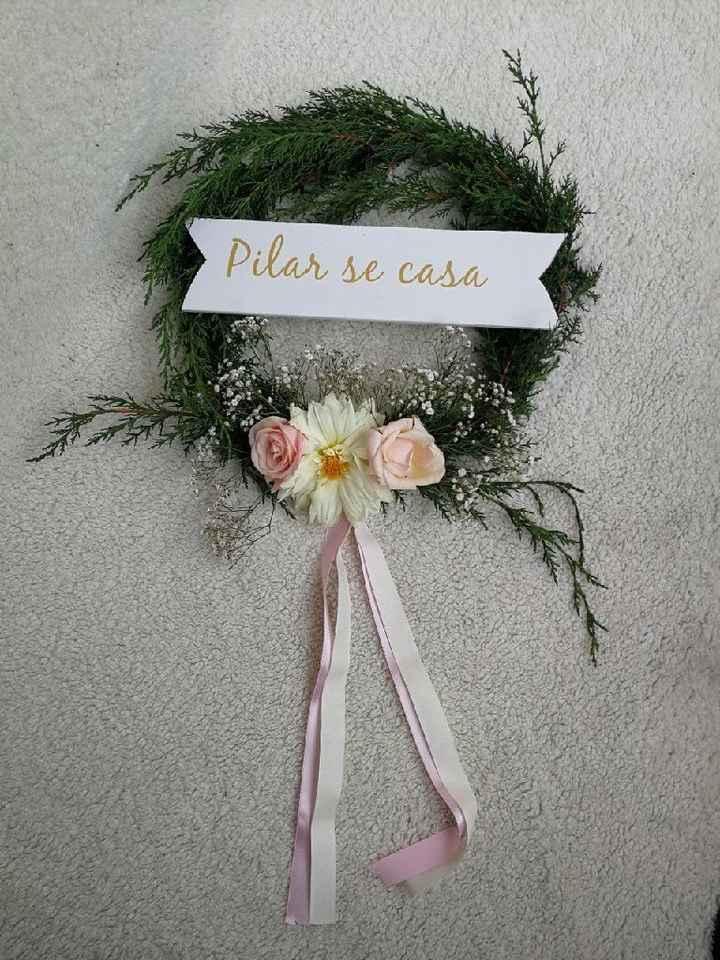 Mi bouquet//boutonniere//corsage//corona para el carro - 2