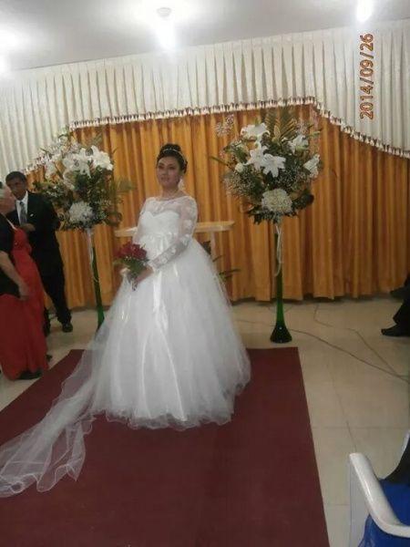 Vestidos de novias embarazadas - 9