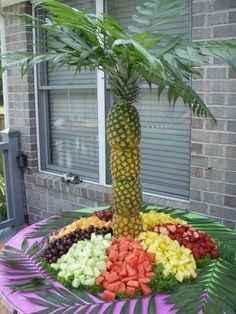 Centros de mesa de fruta para boda - 3