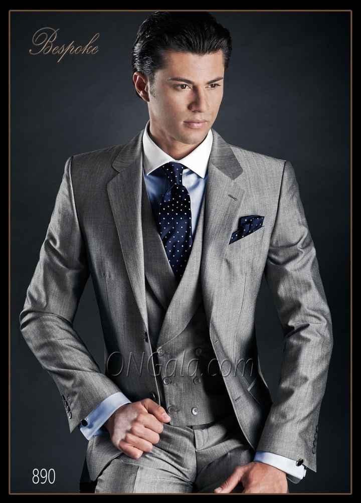 Colores del terno de novio según el tipo de matrimonio - 1