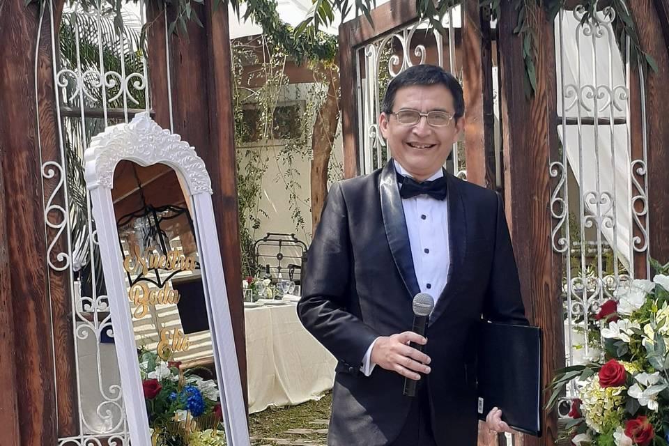 Marco Cabrera - Maestro de ceremonias