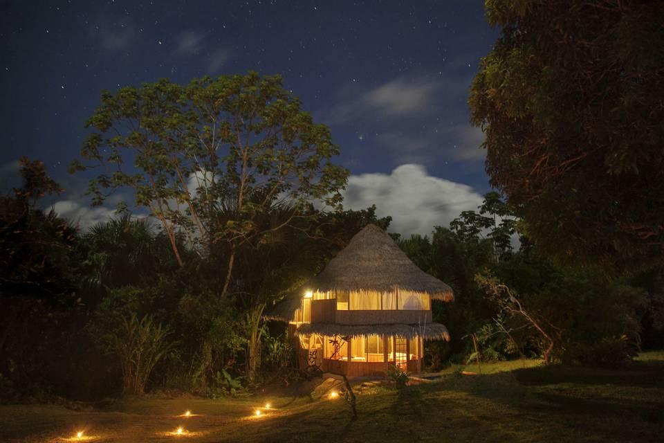 Exterior bungalow Premium