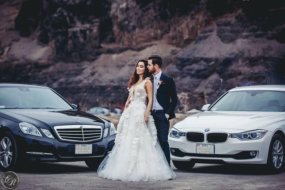 Mercedes Benz y BMW