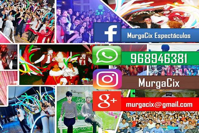 MurgaCix - Espectáculos