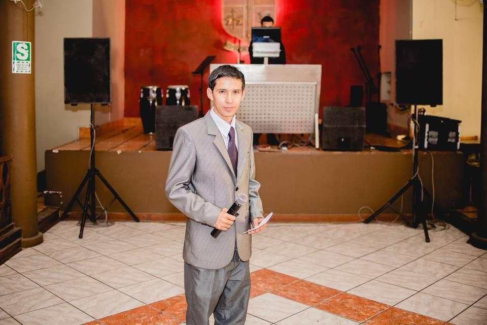 Jorge Luis - Maestro de Ceremonias