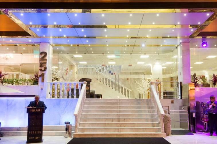 Ingreso a Inkari Luxury Hotel