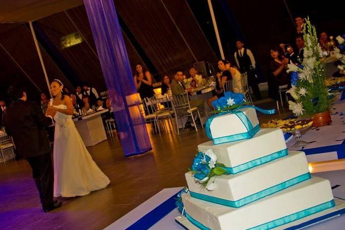 La gran torta de matrimonio